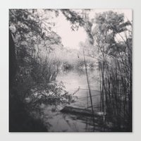 We Happened Upon A Lake Canvas Print