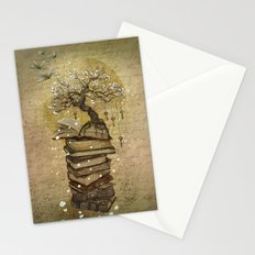 Knowledge is the key Stationery Cards
