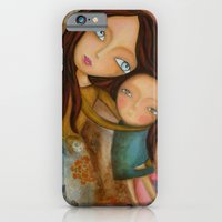 iPhone & iPod Case featuring Embrace of a Mother by Atelier Susana Tavares