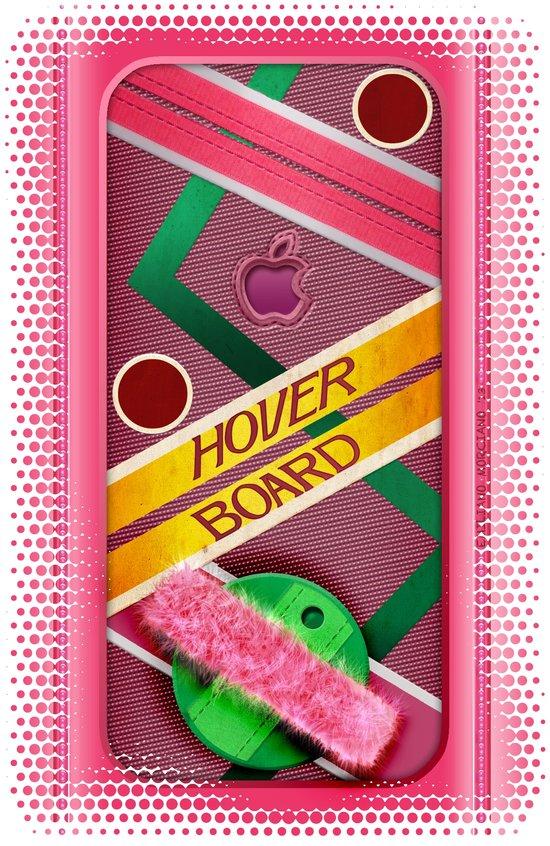 Mc Fly Escape Hover Board. Art Print