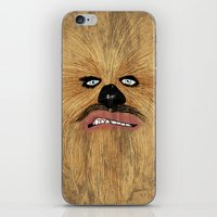 chew-bacca iPhone & iPod Skin