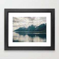 Reflection On Jenny Lake Framed Art Print