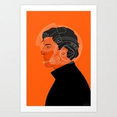 3/4 Art Print