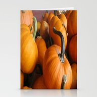 Vector Style Harvest Of … Stationery Cards