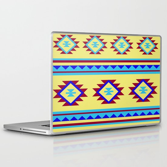 Azteca Laptop & iPad Skin