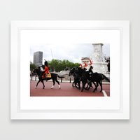 The Guards with their Horses 14 Framed Art Print