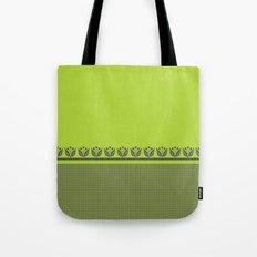 Chartreuse Spring Tote Bag