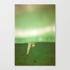 Underwater Feet Canvas Print