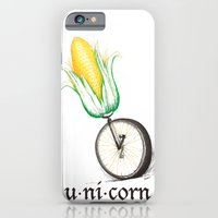 iPhone & iPod Case featuring Unicorn by TheCore