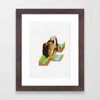 Badet Framed Art Print