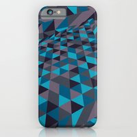 iPhone & iPod Case featuring Triangulation (Inverted) by F. C. Brooks