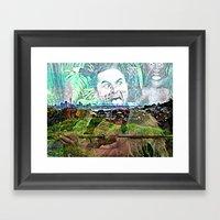 New Zealand. Framed Art Print