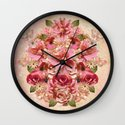 Daybreak Flourish Wall Clock