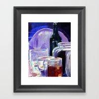 A Series Of Wedding Danc… Framed Art Print