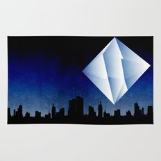 Ramiel Thunder of God Vector Angel Art from Evangelion Anime Series. Rug