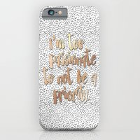 iPhone Cases featuring Be A Priority by Jenna Davis Designs