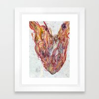 Everything's on Fire Framed Art Print