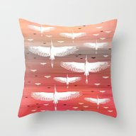 The Journey, Dawn Throw Pillow
