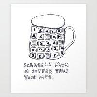 Mug. Art Print
