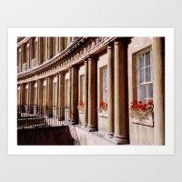 Royal Crescent, Bath Art Print