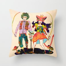 LSD love Throw Pillow