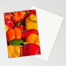 Sweet Bell Peppers Stationery Cards