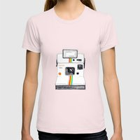 Polaroid Womens Fitted Tee Light Pink SMALL