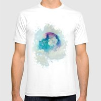 Secret Planet Mens Fitted Tee White SMALL