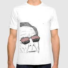 x-ray vision White SMALL Mens Fitted Tee