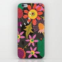 Jungle Flowers iPhone & iPod Skin