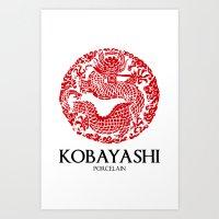 Kobayashi Art Print