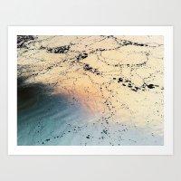 Copper River Art Print