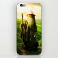 Gandalf's Return - Paint… iPhone & iPod Skin
