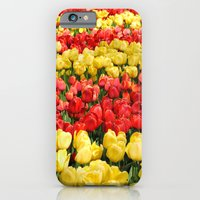 Red And Gold iPhone 6 Slim Case