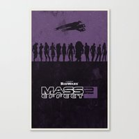 Mass Effect 2 Canvas Print