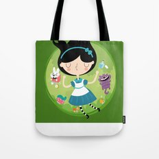 Down the hole Tote Bag