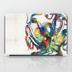 Colorful Octopus Art By … iPad Case