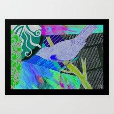 your bird can sing Art Print