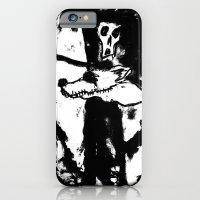 Dandy Fox Demonix (In Black Distortion) iPhone 6 Slim Case