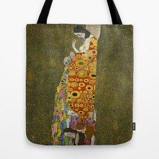 Hope II by Gustav Klimt  Tote Bag