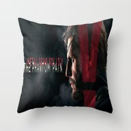 Metal Gear Solid V  , Me… Throw Pillow