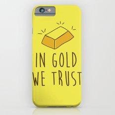 In Gold we trust! Slim Case iPhone 6s
