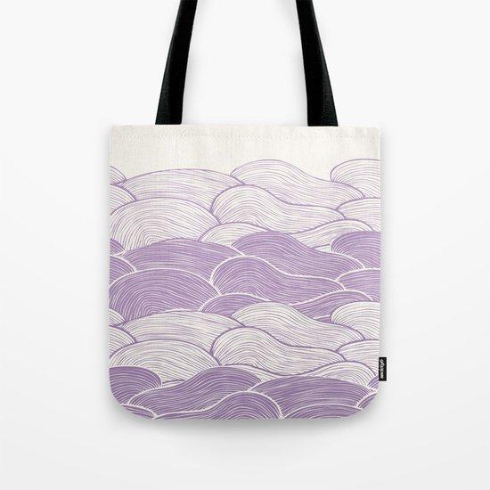 The Lavender Seas Tote Bag