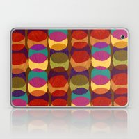Collage and digital circle pattern Laptop & iPad Skin
