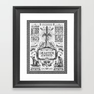 Framed Art Print featuring Legend Of Zelda Vintage … by Barrett Biggers
