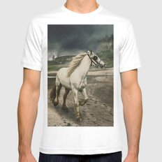 The Gypsy Wanderer Mens Fitted Tee White SMALL