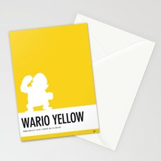 No43 My Minimal Color Code poster Wario Stationery Cards