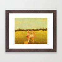 Moonrise Kingdom Framed Art Print