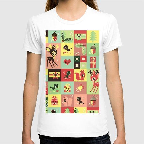 Christmas Geometric Pattern No. 2. T-shirt