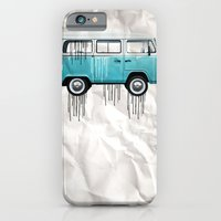 iPhone & iPod Case featuring VW kombi paint job by vin zzep